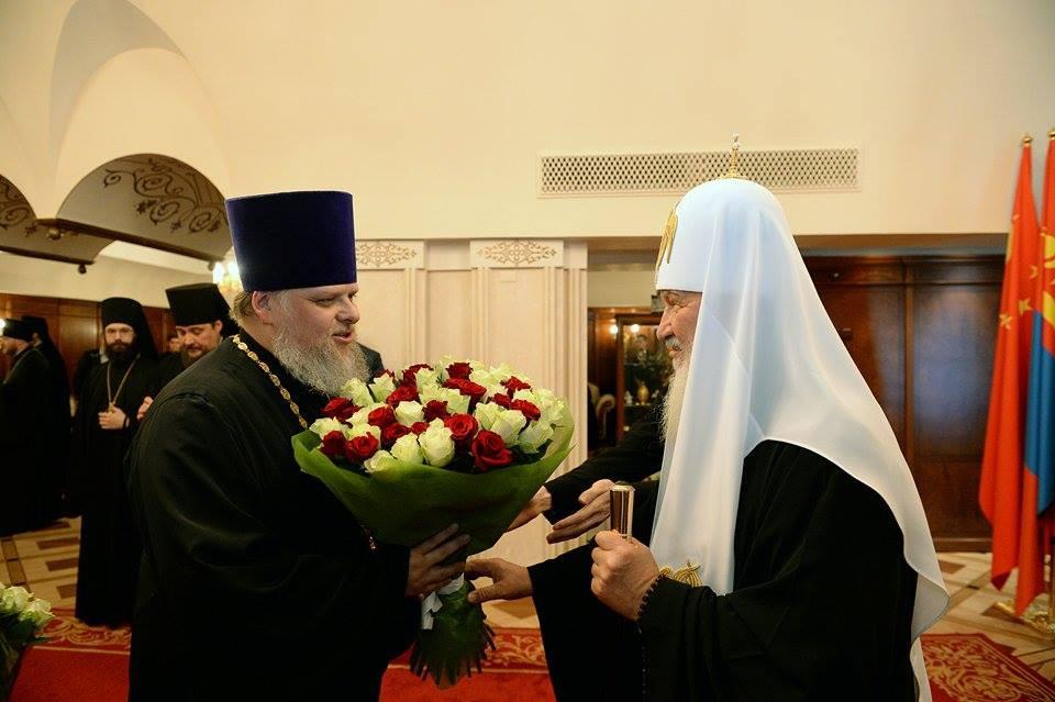 Поздравление с тезоименитством патриарха